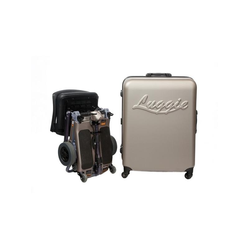 Scooter Plegable Luggie accesorio maleta