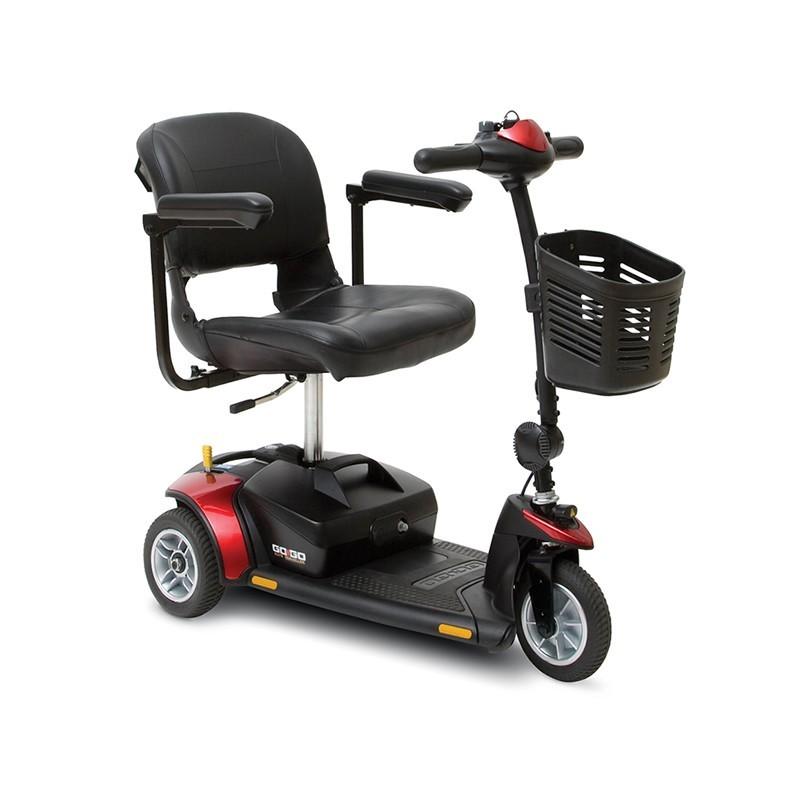 Scooter Eléctrico portátil y desmontable 'GOGO' 3 Ruedas