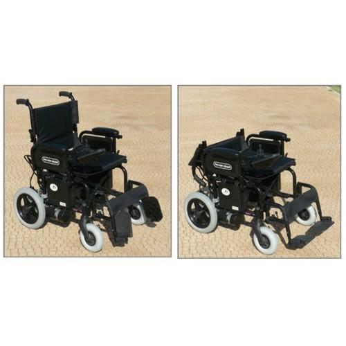 Silla de ruedas eléctrica Power Chair respaldo partido