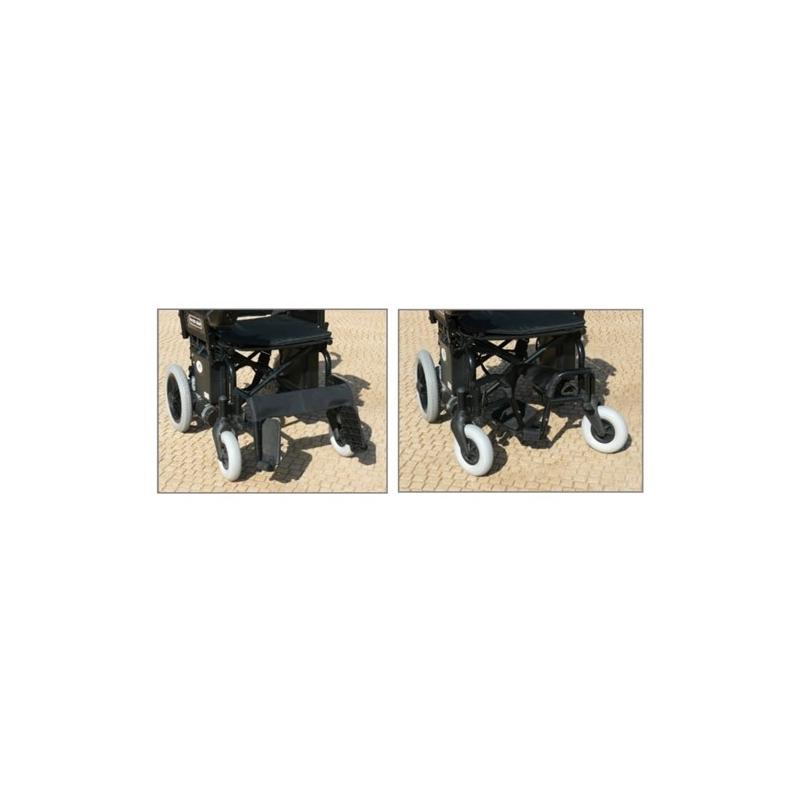 Silla de ruedas eléctrica Power Chair reposapiés