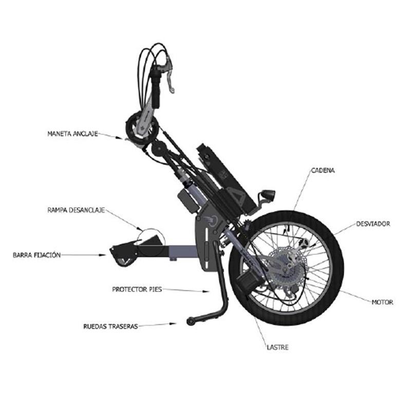 Handbike Batec Híbrido