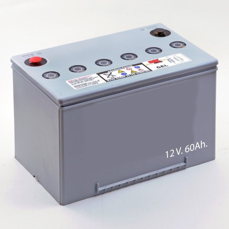 Baterías Baterías de Gel M34 SLD G FT 12V. 60Ah.