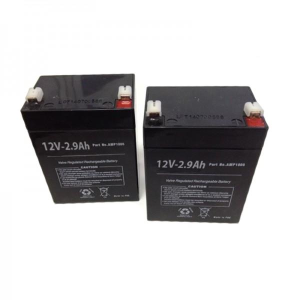 Baterías Grúa Eléctrica Hop par