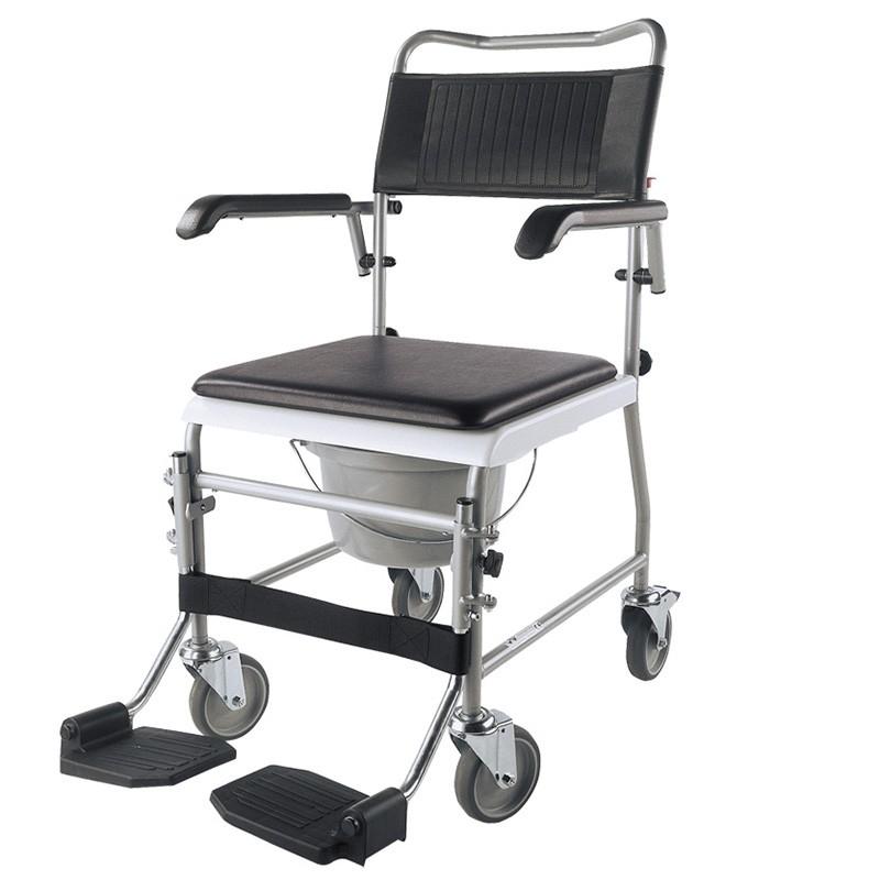 Silla de ruedas con inodoro ts 200 for Sillas para inodoros