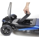 Scooter Eléctrico 4 Ruedas Plegable Automático Transformer