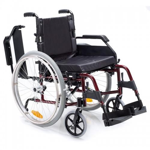 Silla de ruedas de aluminio plegable Venetto
