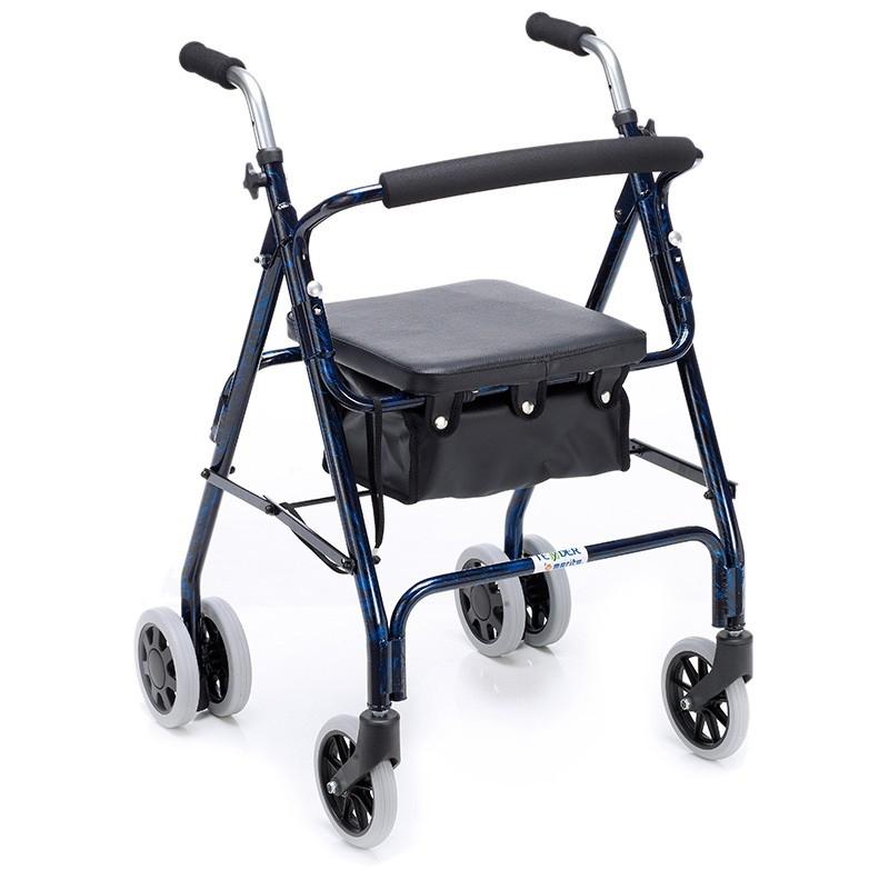 Andador cuatro ruedas Rívoli