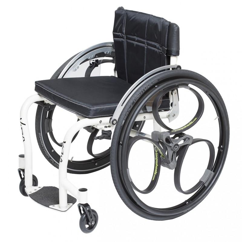 silla de ruedas que se para