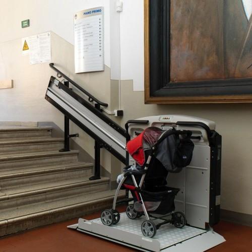 Salva Escaleras con Plataforma V64