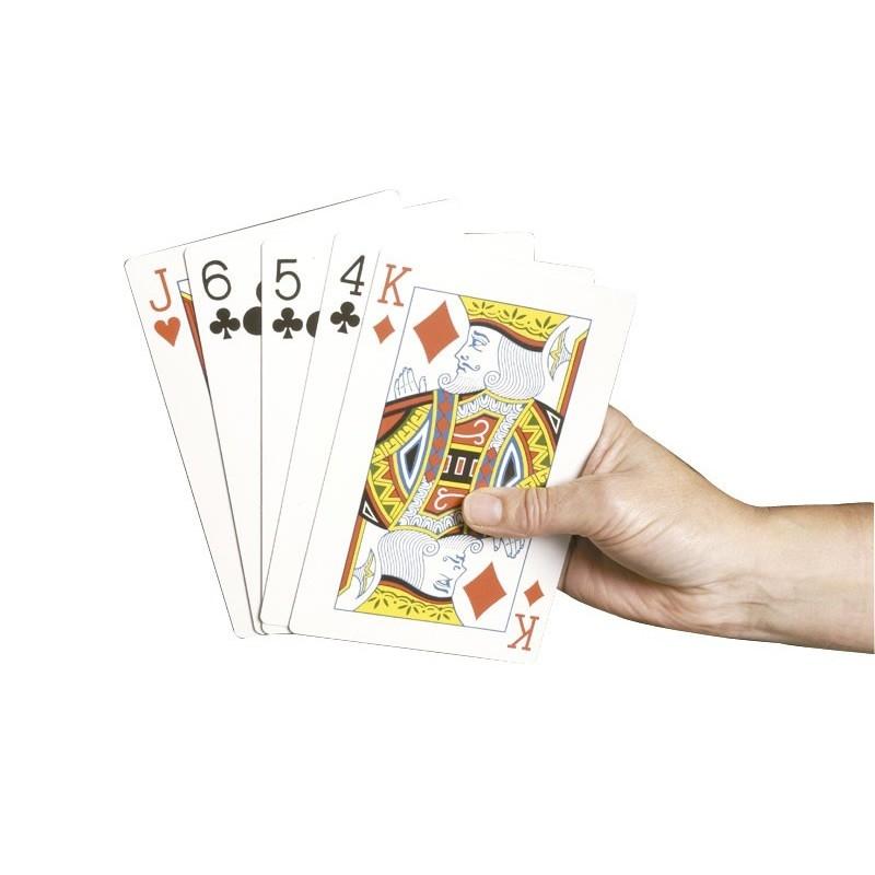 Baraja de Cartas de Poker Extragrande