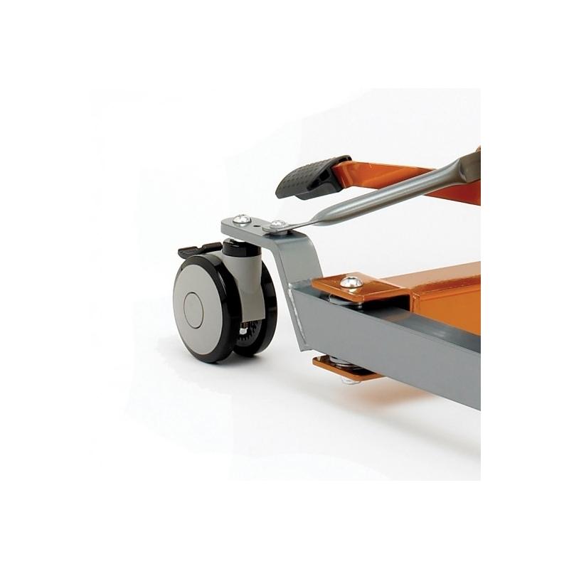 Rueda Trasera para Grúa Sunlift de 100 mm. con Frenos
