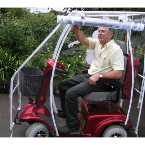 "Capota cerrada ""Deluxe"" para scooter eléctrico"