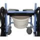 Silla de ruedas grandes para ducha inodoro TS Aqua