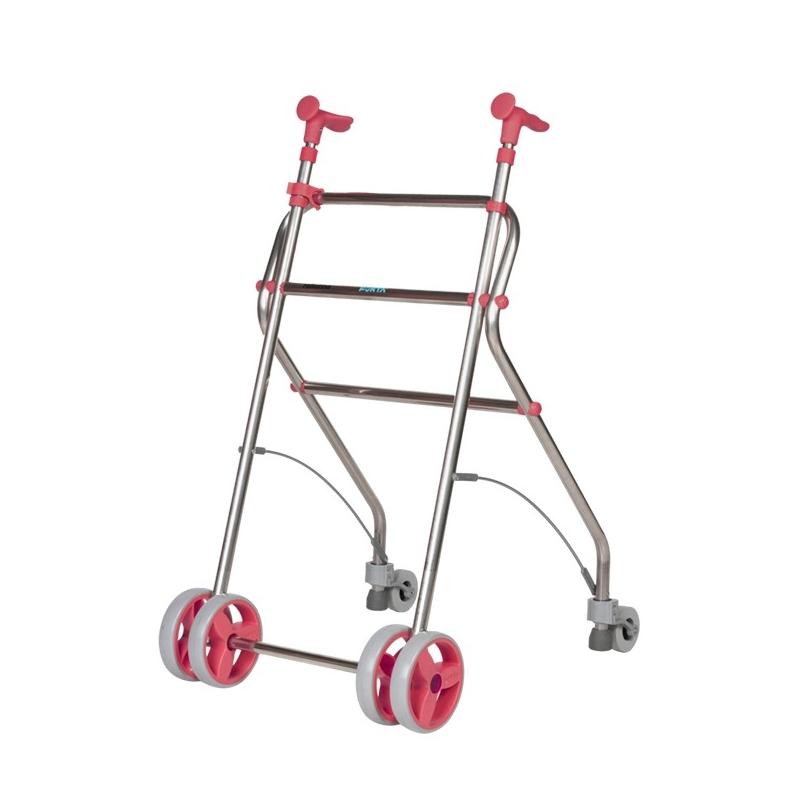 Andador  4 ruedas Rollatino Coral
