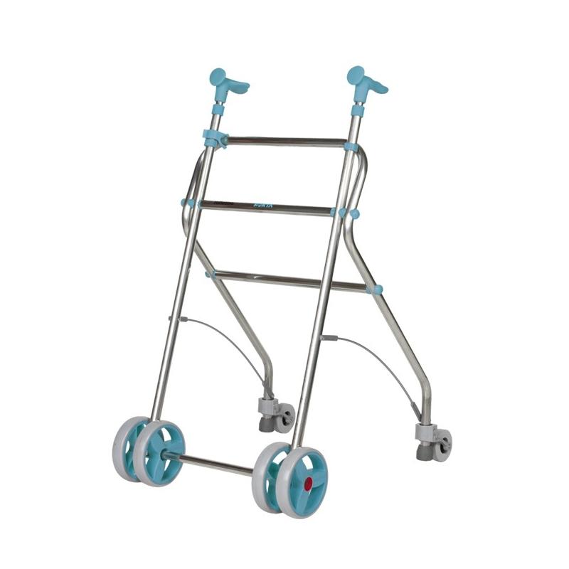 Andador  4 ruedas Rollatino Esmeralda