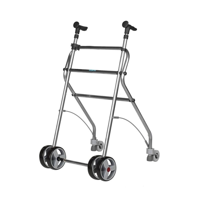 Andador  4 ruedas Rollatino negro