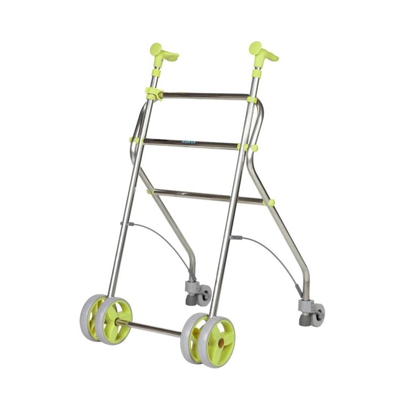 Andador  4 ruedas Rollatino pistacho