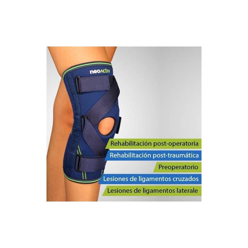NeoActiv Rodillera estabilizadora ligamentos cruzados