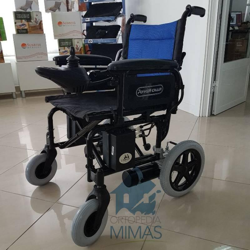 Silla de Ruedas Eléctrica Power Chair litio y maciza