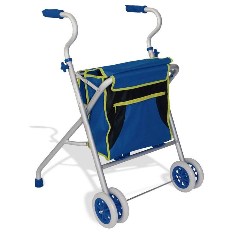 Andador de 2 ruedas de aluminio LUX