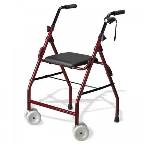 Andador 4 ruedas de aluminio Mini Roler