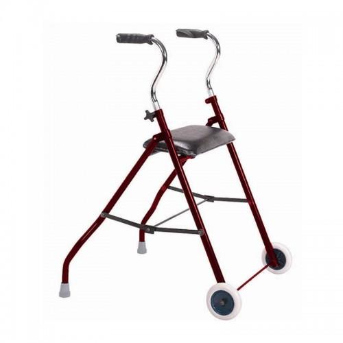 Andador con ruedas y asiento Fortissimo D41