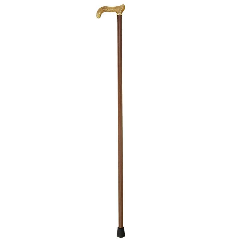 Bastón de paseo con puño de madera