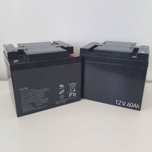 Baterías Silla DRAGON 60 Ah