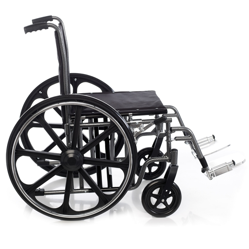 Silla de ruedas de acero bariátrica Hércules