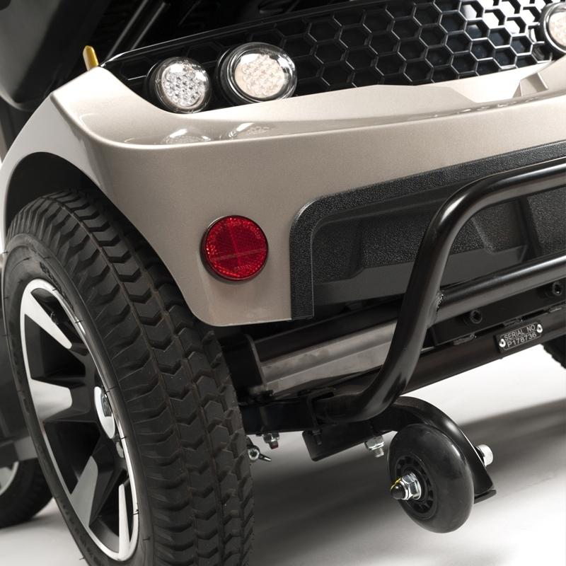 Scooter Eléctrico de 4 Ruedas y Gran Autonomía Mercurius