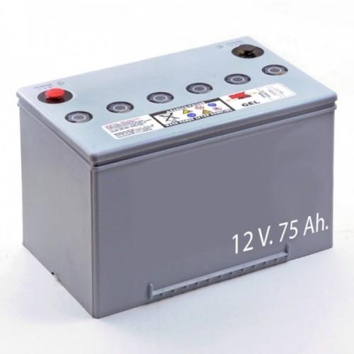 Baterías de Gel M24 SLD G FT 12V. 75Ah.