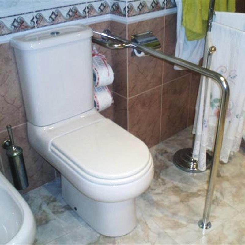 Barra de ba o del suelo a la pared - Suelo para bano ...