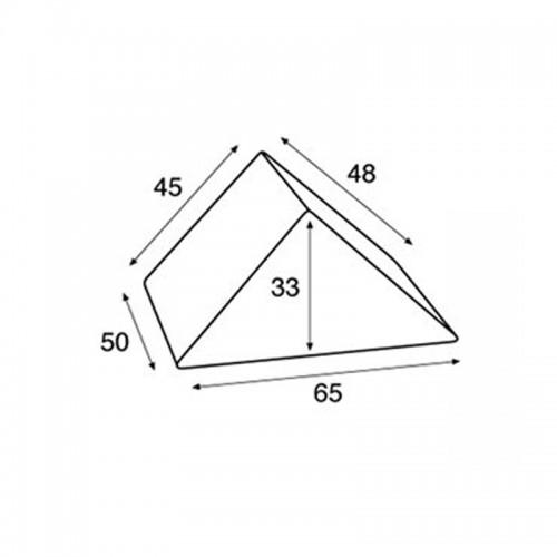 Cojín Triangular