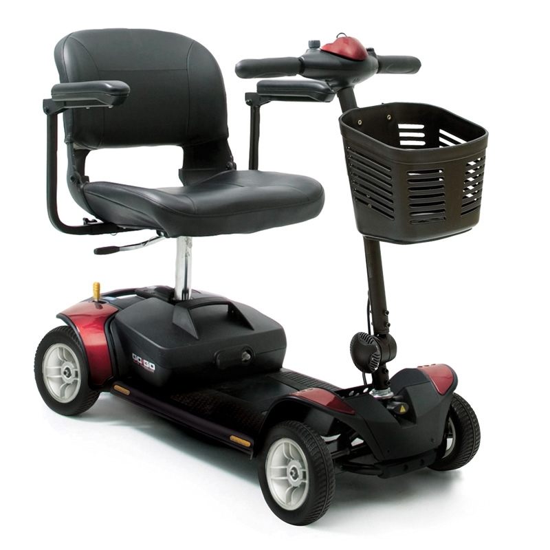 Scooter Eléctrico portátil y desmontable 'GOGO' 4 Ruedas