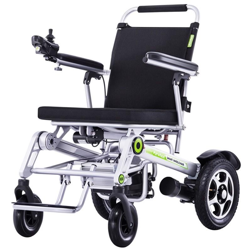 sillas de ruedas electrica plegable joytech