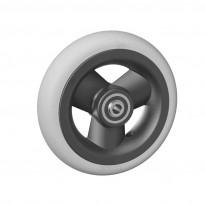 Ruedas Completas con Neumáticos de Caucho 125x30 mm.
