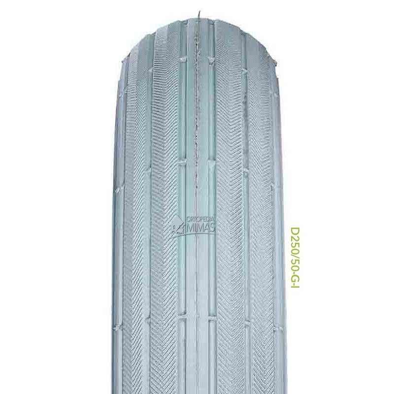"""Neumáticos para Sillas de Ruedas 8""""x2"""" 200x50 mm. Negra"""