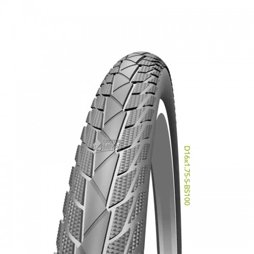 """Neumáticos para Sillas de Ruedas Manuales 16""""x1.75"""" 400x45 mm."""