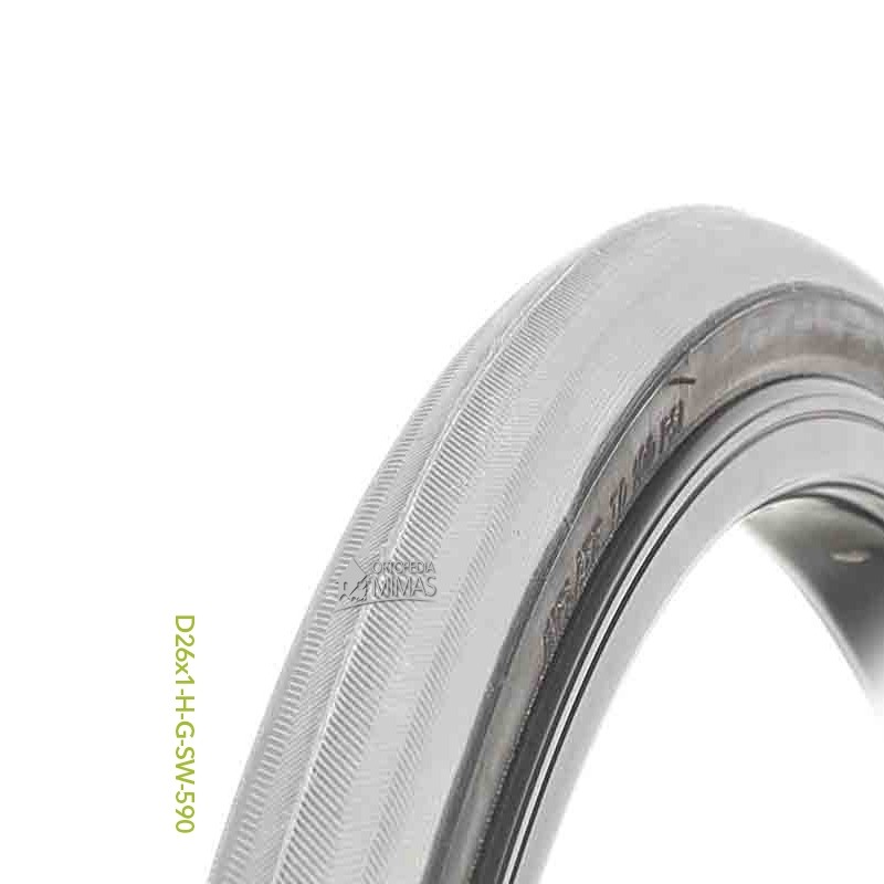 """Neumáticos para Sillas de Ruedas Manuales 24""""x1.75"""" 620x45 mm."""