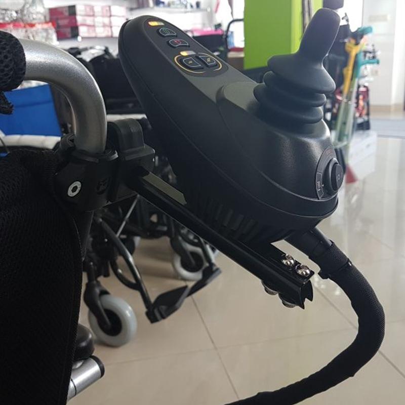 Soporte mando acompañante sillas plegables 3