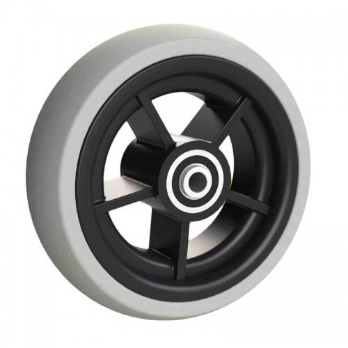 Ruedas Completas con Neumáticos de Caucho 125x40 y 140x40