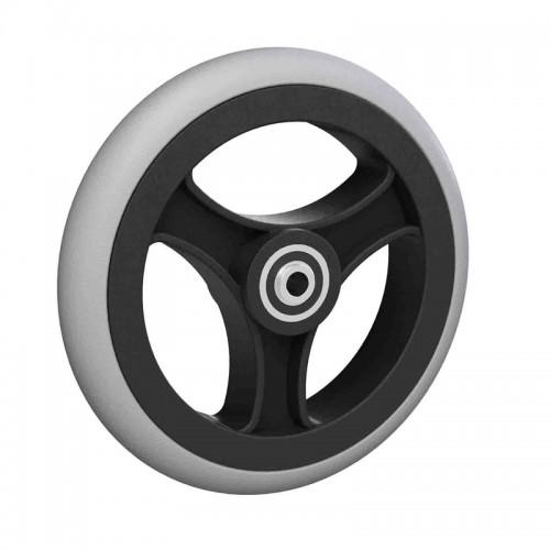 Ruedas Completas con Neumáticos de Caucho 125x25 - 150x25 - 150x33