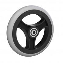 Ruedas Completas con Neumáticos de Caucho 150x33 mm.