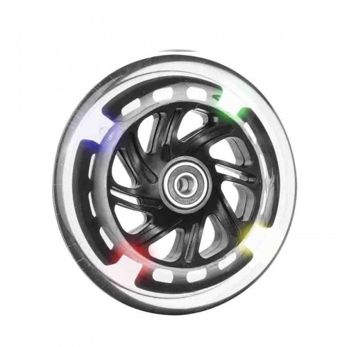Ruedas Completas de Diseño con Cubiertas de Poliuretano con LED 80x24 - 100x24 - 125x24