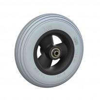 Ruedas Completas con Neumáticos de PU 175x40 mm.