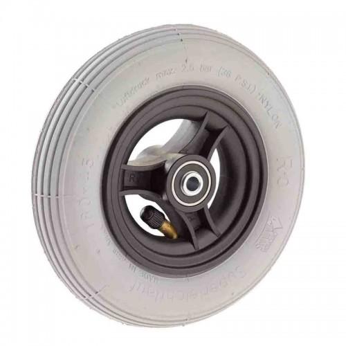 Ruedas Completas Radio con Neumáticos Hinchables 200x50 mm.