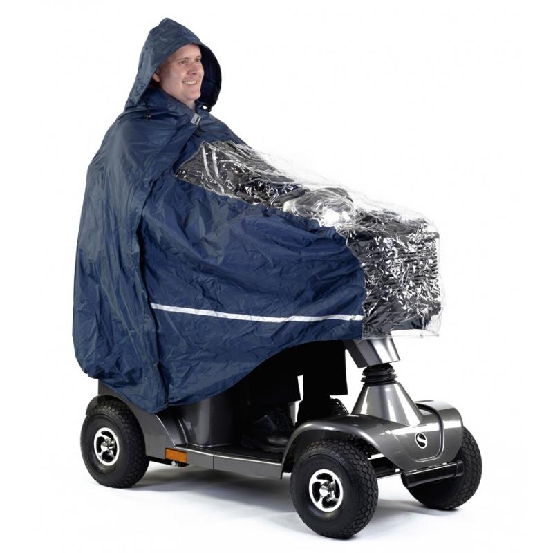 Capa para lluvia scooter S400, S425 y S700