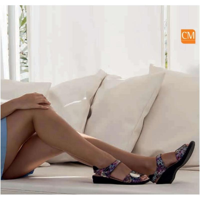 Sandalia Ortopédica Cierro dos Velcros