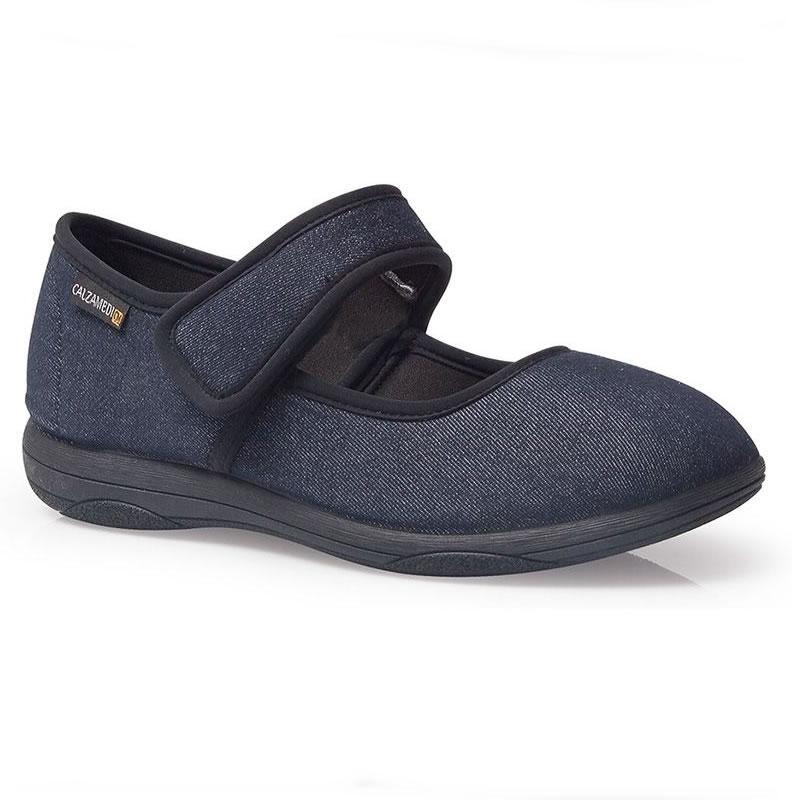 Zapatillas Jeans con Pala Elástica