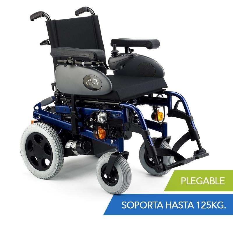 Sillas de ruedas electricas ligeras y plegables las for Sillas de ruedas usadas
